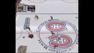 NHL 2K3 Montreal Canadiens vs Boston Bruins 3rd Period Gameplay