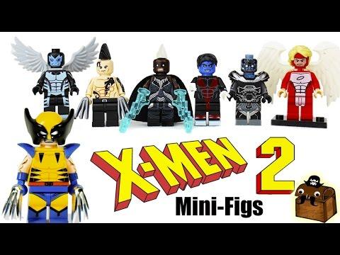 New X-Men Custom LEGO Minifigures 2017 thumbnail