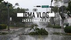 VLOGGING THROUGH HURRICANE IRMA | JACKSONVILLE, FL