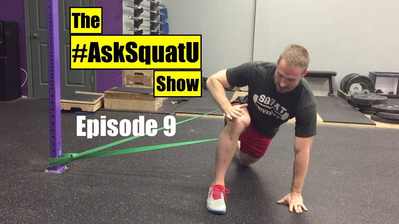 Sore hip flexors when squatting