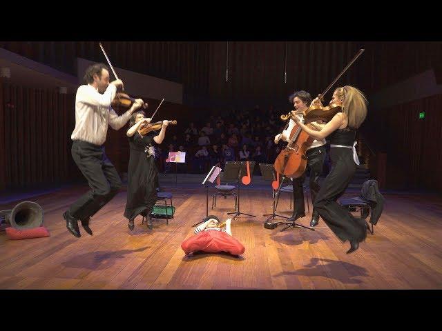 Un clown au pays de la musique classique #4 - NezRouge#Quatuor - LIVE 4K