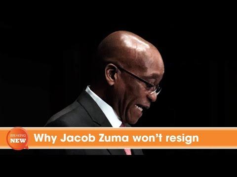 Why Jacob Zuma won't resign
