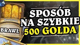 SZYBKI SPOSÓB NA 500 GOLDA - ODBICIE CIENIA - Hearthstone Brawl