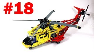 Lego Technic 9396 Helicopter Review – Вертолет – Легенды Лего Техник – Обзор №18