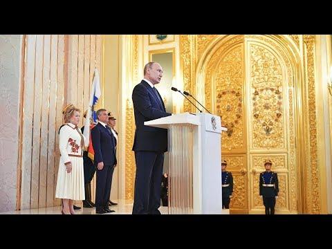 Russia: FULL VIDEO of Vladimir Putin's Inauguration as Russian President Held in Kremlin