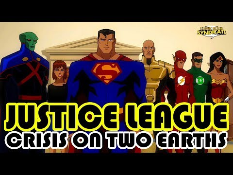 Justice League Crisis On Two Earths, Bernard Chang Int.   COMIC BOOK SYNDICATE