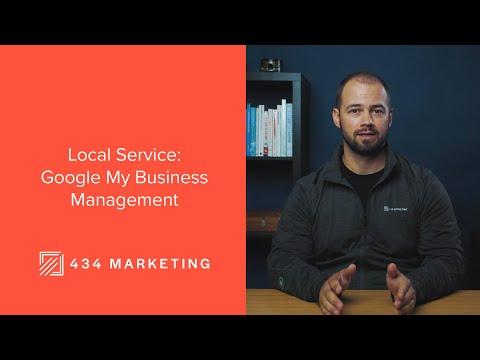 434 Marketing Local Service - Google My Business Management