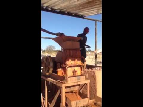 Hammer mill to Sluice Box
