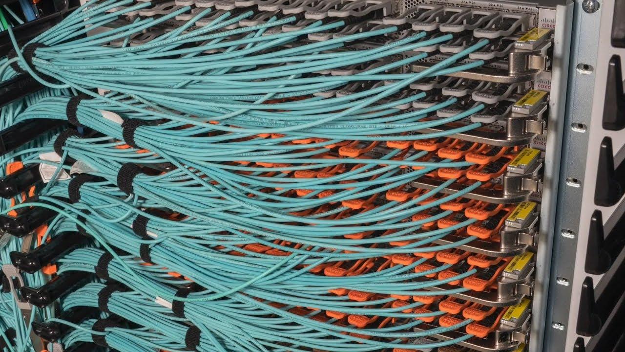 Stress Test  Cisco Nexus 9516 Data Center Core Switch