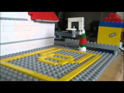How To Build Lego Basketball Hoop Youtube