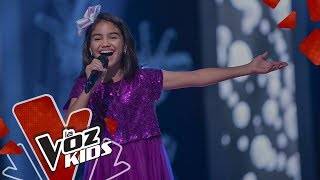 Gabriela sings I will always love you - Blind Auditions   The Voice Kids Colombia 2019