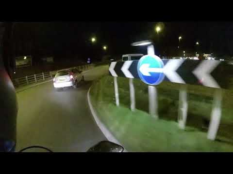 Green Lanes at Night and some attempt at Wheelies