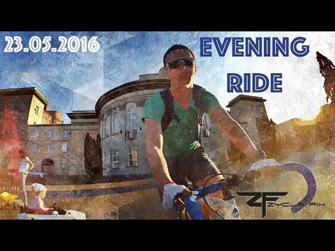 Evening Ride in Cherkasy