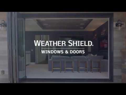 Weather Shield   Bi Fold Patio Door