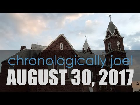 Chronologically Joel: August 30, 2017 | #LOSTtoTIME St Peter & Paul Catholic Church