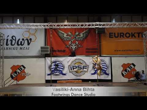 Vasiliki - Anna Bihta - hellenic Pole Sport Federation