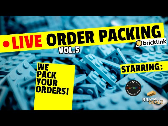 🔴 LIVE ORDER PACKING VOL.5 | Mit NETBRIX