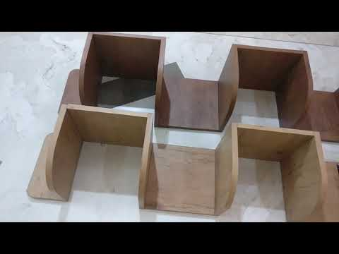 Room Decoration - DIY Corner Shelves Build