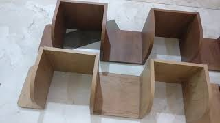Room Decoration - DIY Corner Shelf / Shelves Build