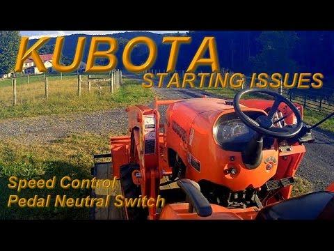 Kubota Tractor Won T Start Y This