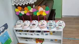 5세 미술작품 전시-#김해큰세상어린이집