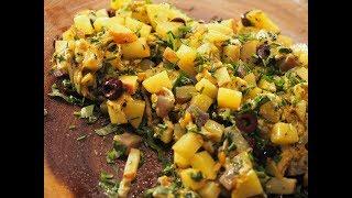 Vegan Cheese Potatoes | World Recipe Potato Series | Vaidya Priyanka | Aumcuisine