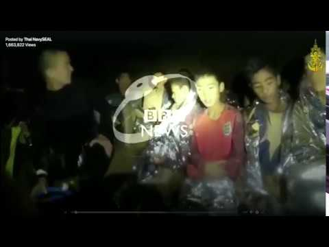 Meninos em caverna na Tailândia: novo vídeo mostra garotos animados e com boa saúde