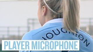 England Captain Wears Microphone During Game