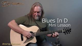 Baixar Dream Guitars Lesson - Blues In D - Paul Heumiller