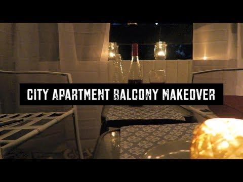 BALCONY MAKEOVER ON A BUDGET  | DIY VLOG