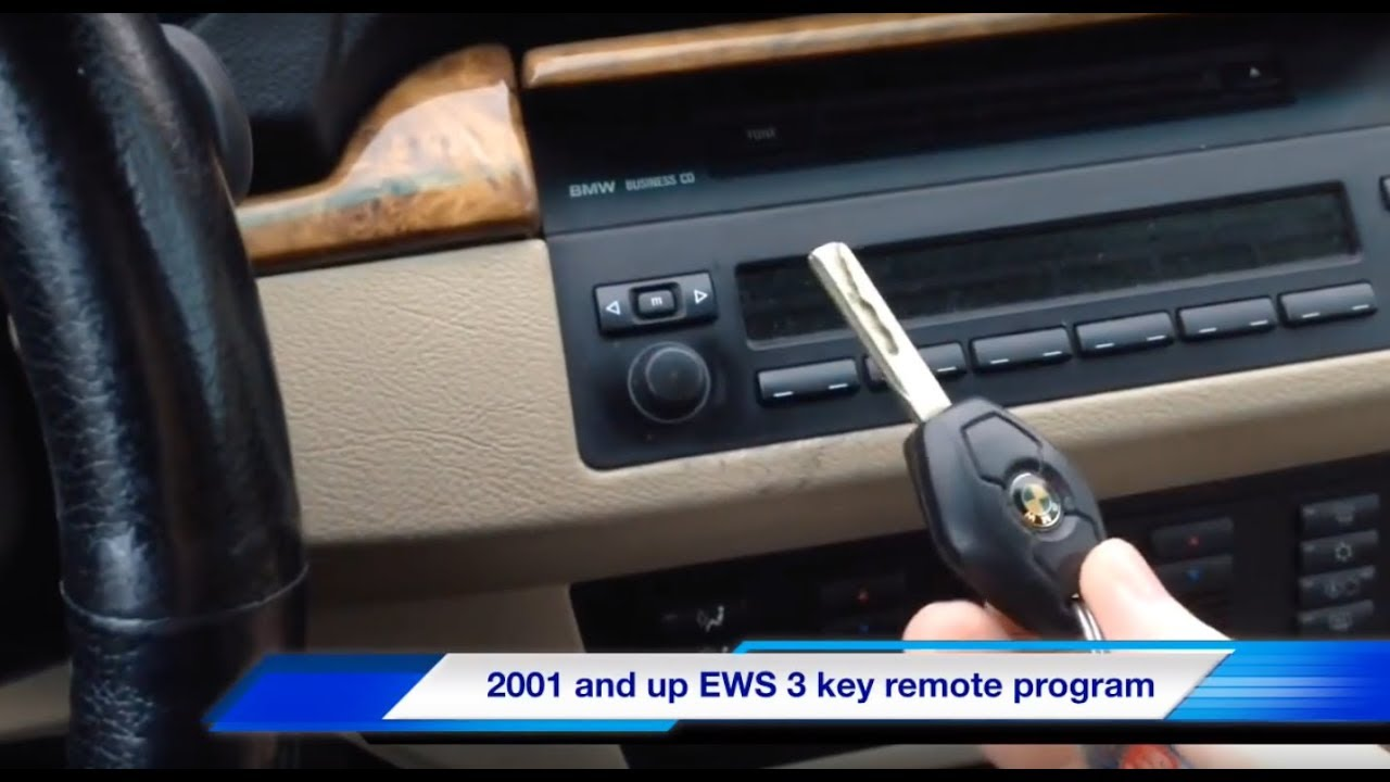 Easy Bmw Key Fob Remote Program Ews 3 X3 X5 E53 E46 E39 E65 E38 Z3