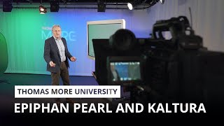 Thomas More University uses Epiphan Pearl and Kaltura for state-of-the-art video infrastructure
