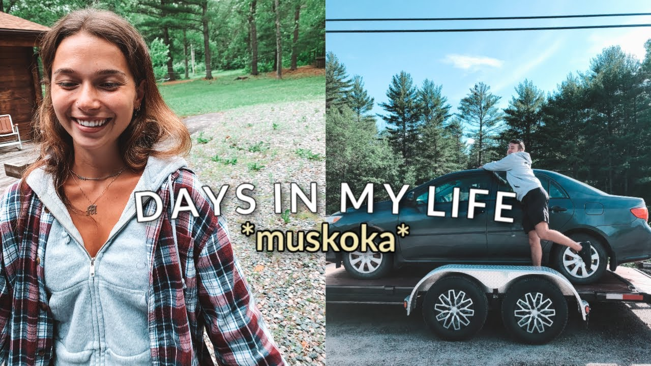 VLOG: relaxing days in muskoka