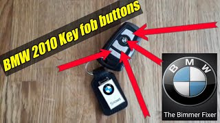 BMW KEY FOB what all the buttons do...