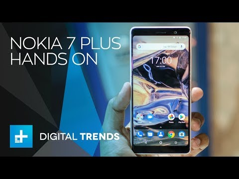 Nokia 7 Plus – Hands On at MWC 2018
