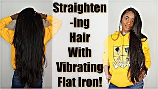 Does It Work? Straightening Natural Hair with Vibrating Flat Iron: Bio Ionic 10X