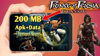 200 MB Prince of Persia Classic Android Game Full Step Hindi
