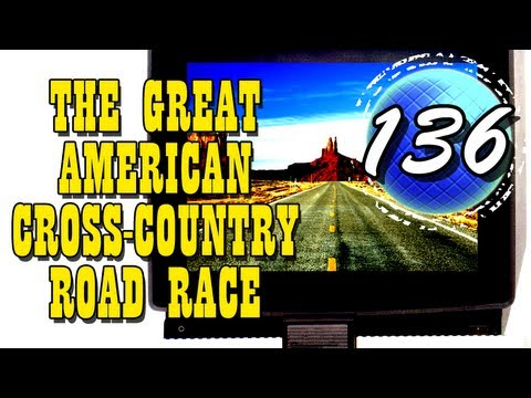 The Great American Cross-Country Road Race - Video Review / Gameplay