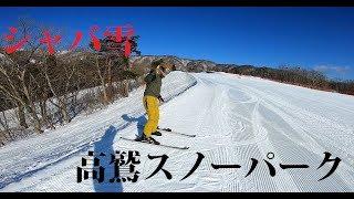 高鷲スノーパーク&ダイナランド 暖冬の2019年