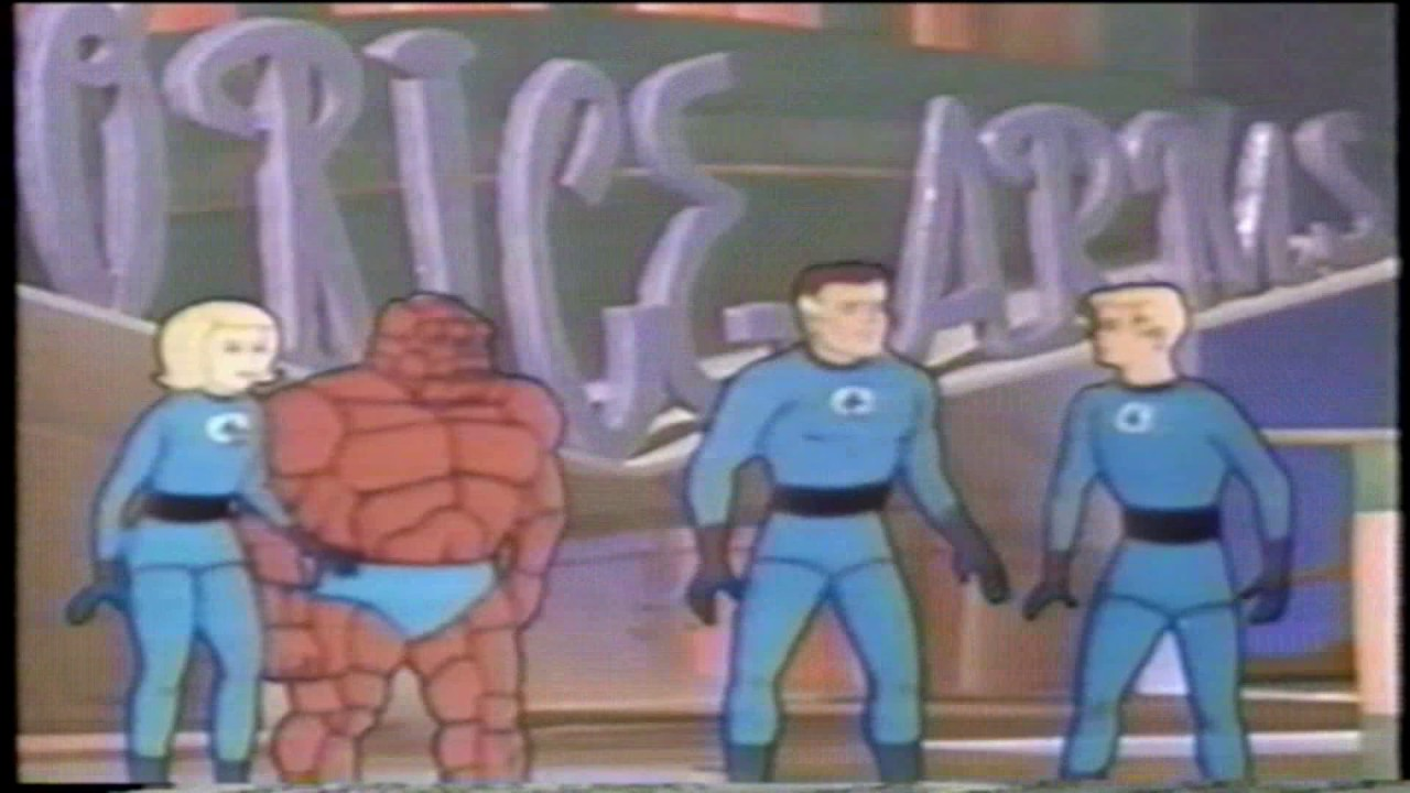 Image result for CARTOON NETWORK (COMMERCIALS) Fantastic Four