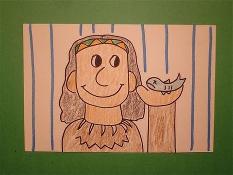 Let's Draw a Native American!