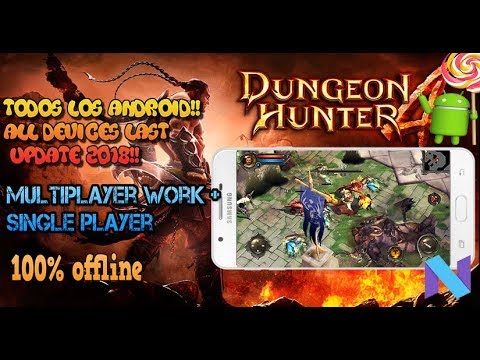 Dungeon Hunter 4 2.0.1f Offline And Multiplayer Last Update 2018 Apk Data All Androids