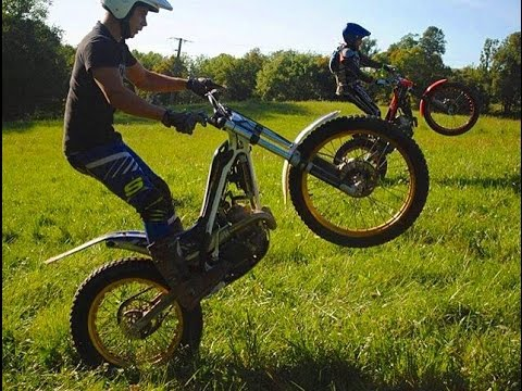 Hard sport this - Moto Trial