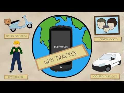 EverTrack - GPS Tracker App teaser from CorvusGPS.com