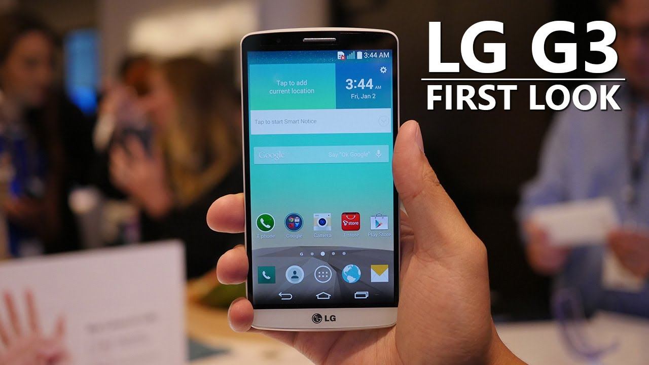 LG G3 First Look and Hands On!