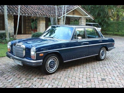 Vintage 1971 Mercedes Benz 250 SHOW CAR