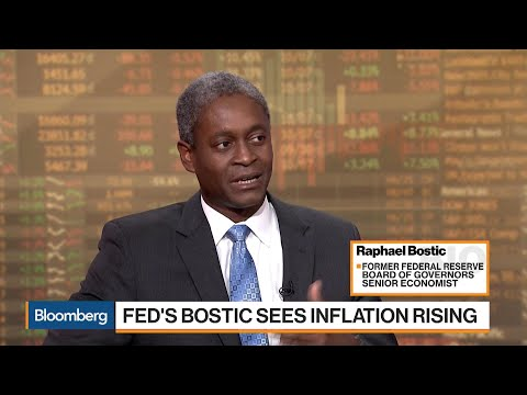 Fed's Bostic Sees Inflation Rising Over Next Year or Two