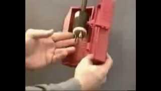 Brady plug lockout