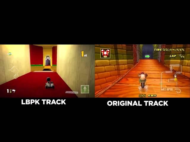 Can You Make Mario Kart in LittleBigPlanet Karting?