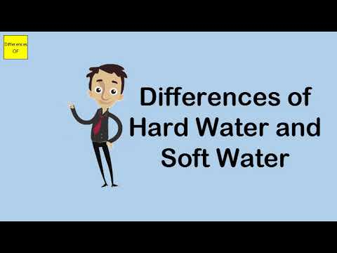 Differences Of Hard Water And Soft Water